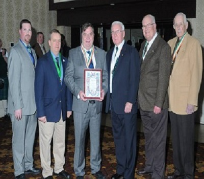 Tim Myles recieves National AOH Life Member award